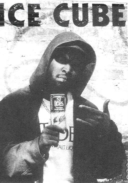 Ice Cube anunciando St Ides