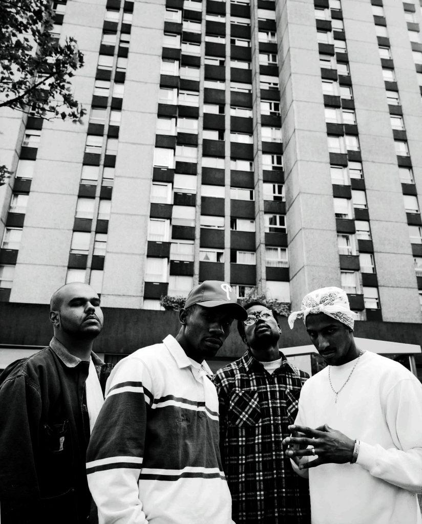 El grupo de rap Ministere Amer fotografiados por Yan Morvan