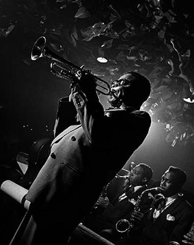 Dizzy Gillespie por Herman Leonard