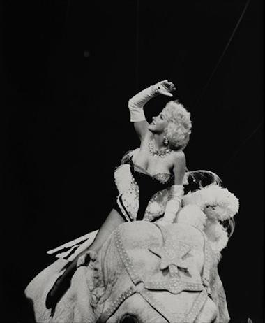Marilyn Monroe por Herman leonard