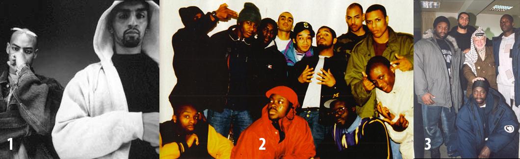 1. Booba y Ali: Lunatic. 2. La crew Time Bomb con Ali y Booba entre ellos. 3. 45 Scientific crew, Ali entre ellos, con Arafat.