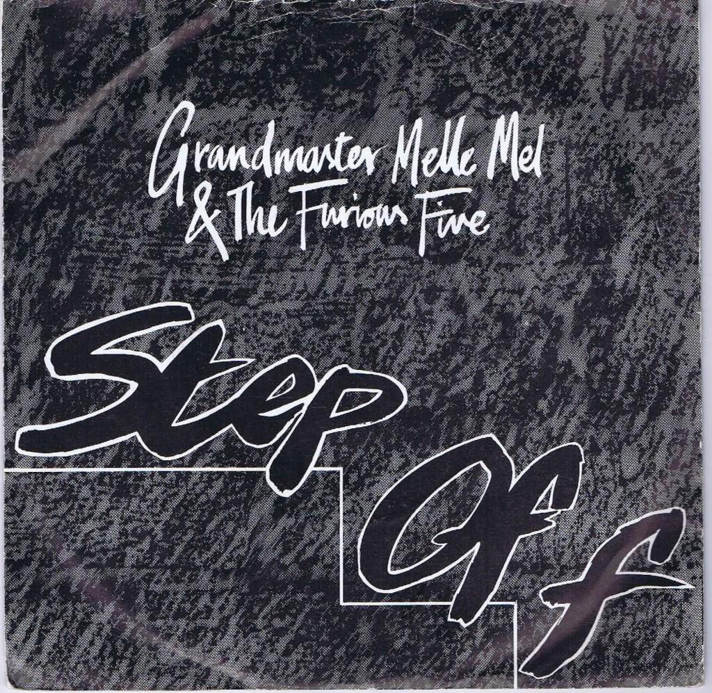 "Portada de ""Step Off"" de Grandmaster Melle Mel & The Furious Five"