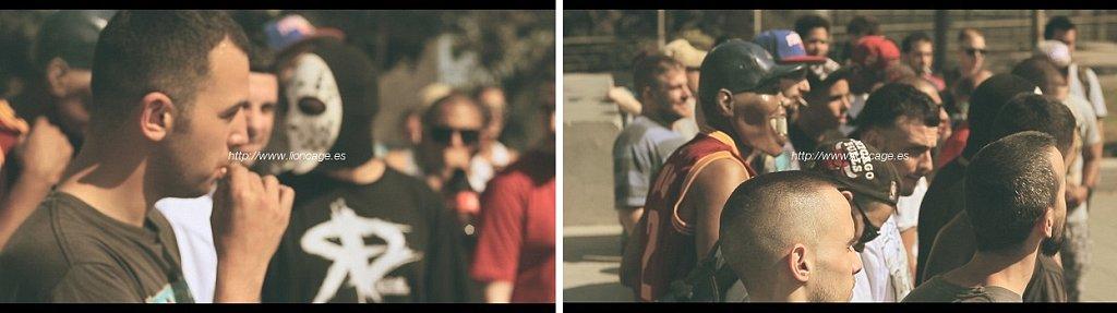 Frames exclusivos del videoclip cedido por @Lioncagefilms