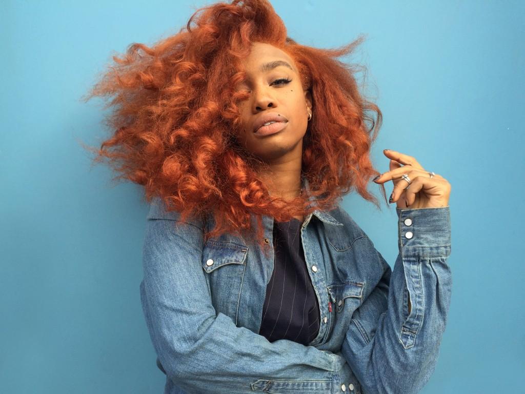 sza-orange-hair