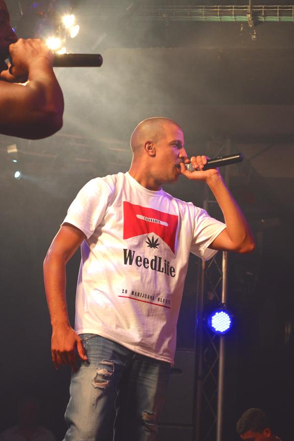 Rim'K durante el concierto en la Sala Penélope el 14 de septiembre de 2013. (Foto: Dani KPB aka KeepPressingTheButton)