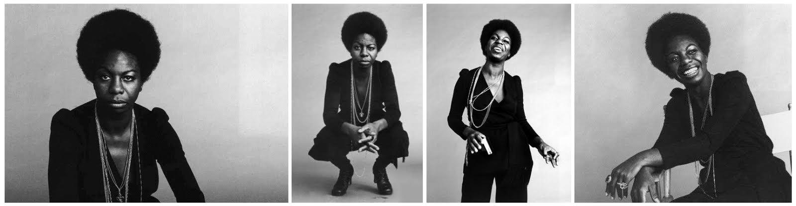 Nina en una sesión fotográfica de 1965