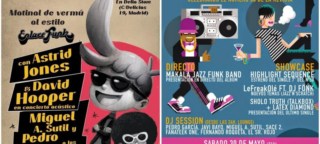 Fiestas de celebración del número 50 de Enlace Funk