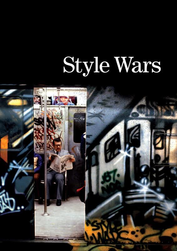 Portada del histórico documental de grafiti Style Wars