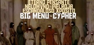 """Portada de """"Cypher EP"""" de BIG MENU"""
