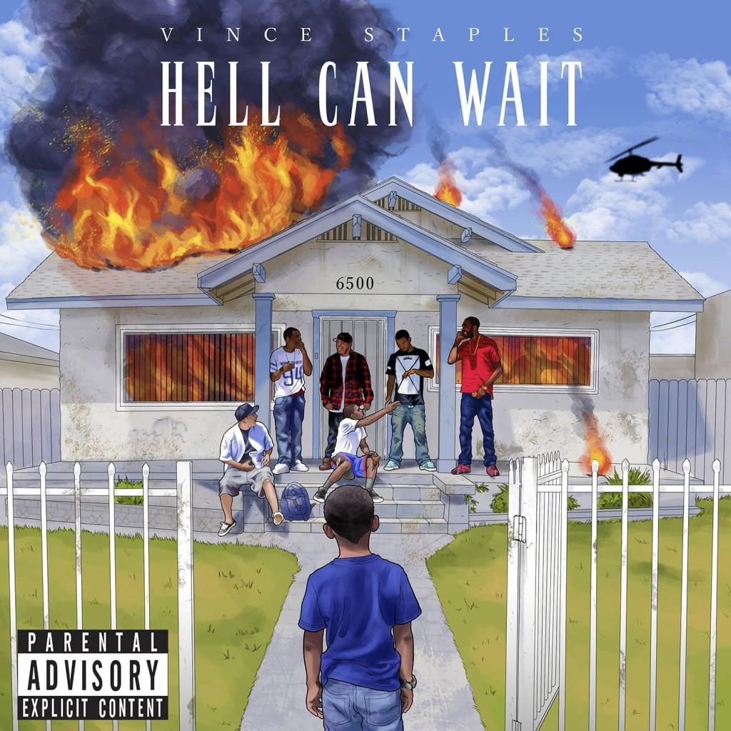"Portada de ""Hell Can Wait"" de Vince Staples"
