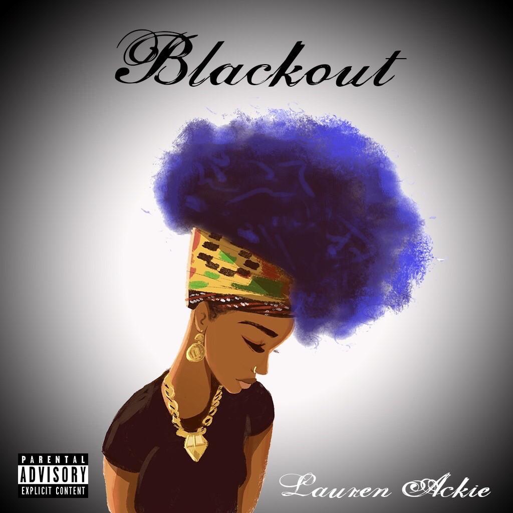"Portada de ""Blackout EP"" de Lauren Ackie"