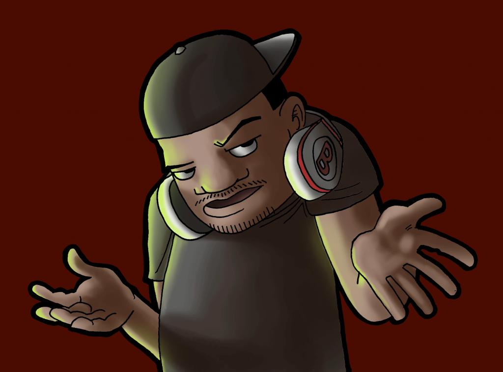 Temazo, personaje de Ciudad Matroit. Ilustración por Pechu Lucas