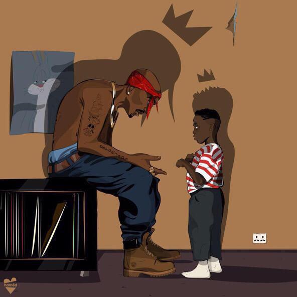 Kendrick y Tupac