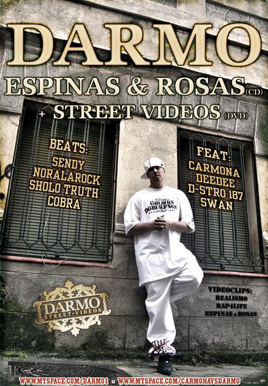 Cartel de la presentación de Espinas & Rosas de Darmo