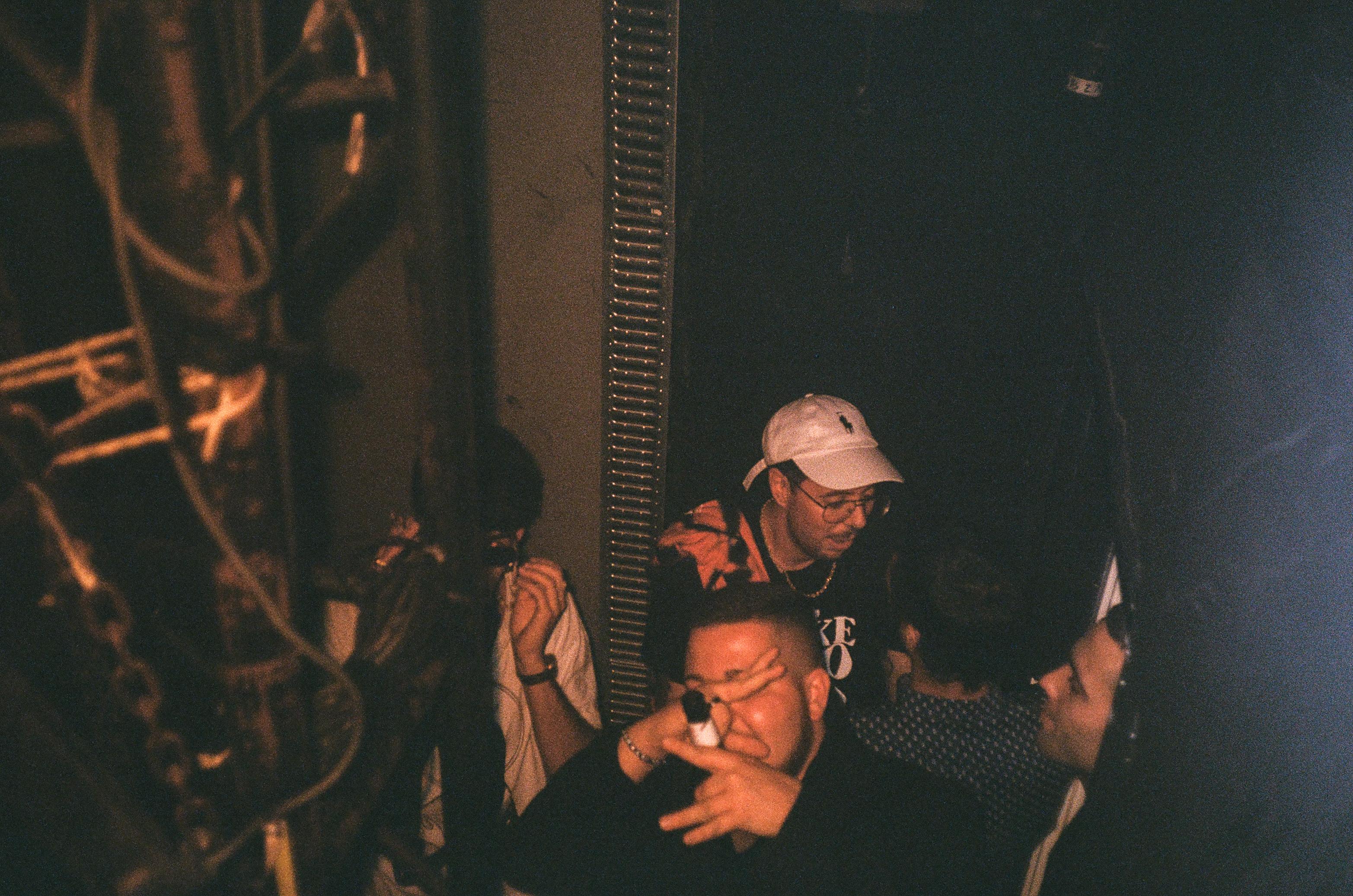 Backstage en I.D. Party (Fotografía por Alberto Pérez Urraca)